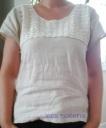 Blouse lin et crochet1