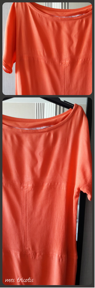 collage robe orange